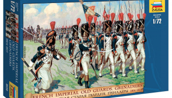 Wargames (AoB) figurky 8030 - French Imperial Old Guards. Grenadiers 1804-1815 (1:72)