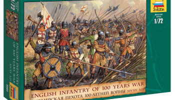 Wargames (AoB) figurky 8060 - English Infantry 100 Years War (1:72)