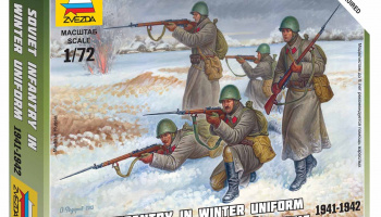 Wargames (WWII) figurky 6197 - Soviet Infantry (Winter Uniform) (1:72)