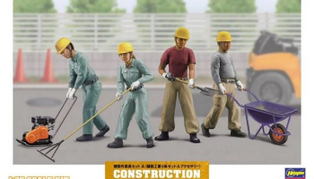 Construction Worker Set A 1/35 - Hasegawa