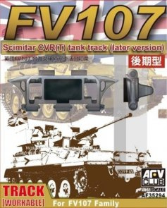 WORKABLE Scimitar CVR(T) Tank Trank (Later Ver.) for FV107 1/35 - AFV Club