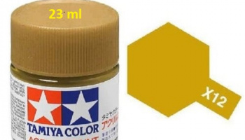 X-12 Gold Leaf 23ml X12 - Tamiya