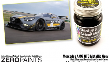 Mercedes AMG GT3 Metallic Grey - Zero Paints