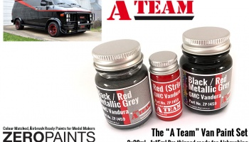 The A Team Paint Set 2x30ml, 1x15ml - Zero Paints