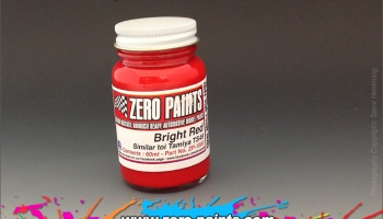 Bright Red Paint ( Similar to TS49) 60ml - Zero Paints