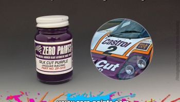 Silk Cut Purple Jaguar Racing - Zero Paint