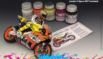 Repsol RC211V Valencia '03 Paint Set 5x30ml - Zero Paints