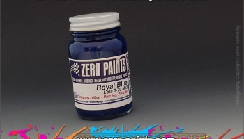 Lola T-70 - Royal Blue - Zero Paints