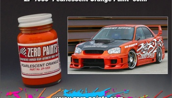 Pearlescent Orange - Zero Paint