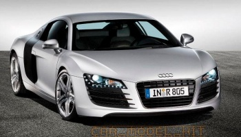 Audi R8 - Ice Silver Metallic - Zero Paints