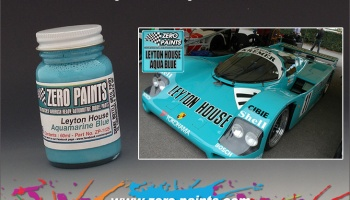 Leyton House Aquamarine Blue - Zero Paints