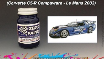 Corvette C5-R Le Mans Xenon Blue 2003 - Zero Paints