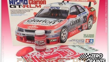 Hot Pink - Nismo Clarion R33 GT-R LM 60ml - Zero Paints