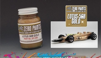Lotus 56B Gold - Zero Paints