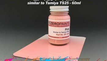 Pink (Similar to Tamiya TS25) - Zero Paints