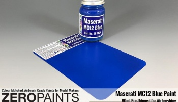 Maserati MC12 Blue Paint 60ml - Zero Paints