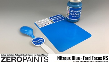 Nitrous Blue - Ford Focus RS Paint 60ml - Zero Paints